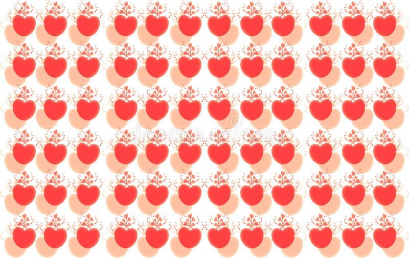 Jour de valentines heureux Soyez mon Valentine La carte de Valentine je t'aime, soit mon Valentine Contexte floral rose avec des  illustration stock