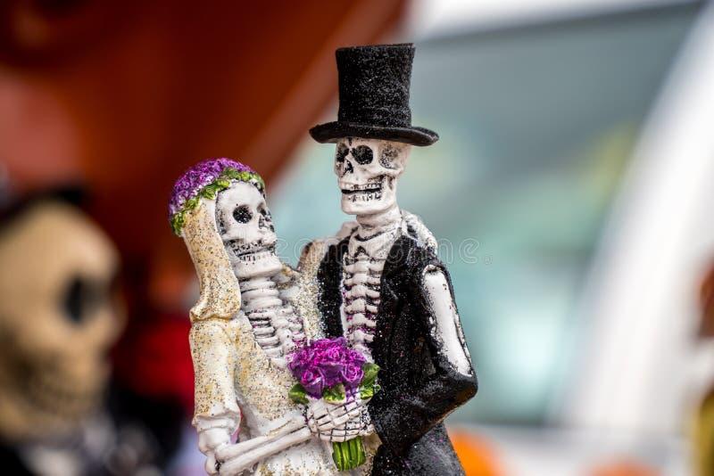 Jour des figurines mortes image libre de droits