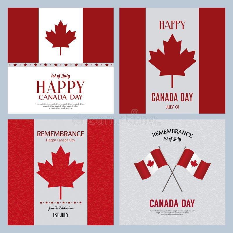 Jour du Canada illustration libre de droits