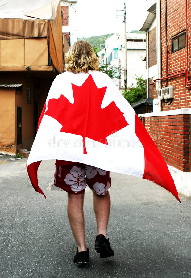 Jour du Canada photos stock