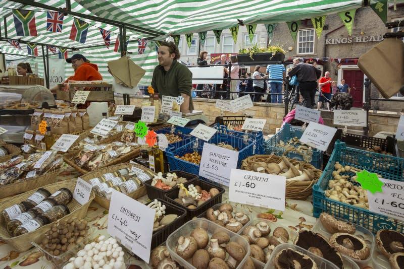 Jour du marché - Malton - Yorkshire - Angleterre photos libres de droits