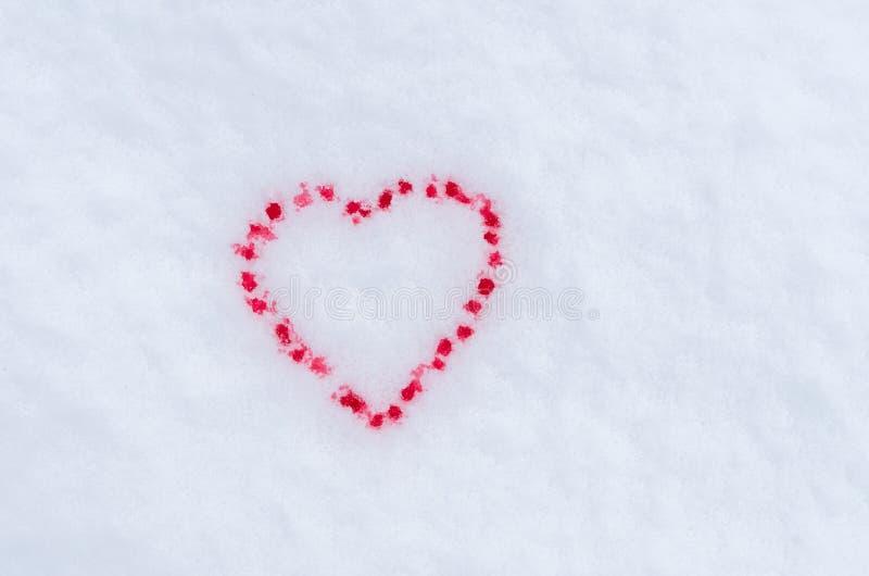 Jour du `s de Valentine L'amour romantique de Valentine, amour ?ternel Amis pour toujours Deux coeurs ensanglant?s photo stock