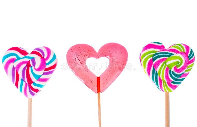 Jour du `s de Valentine Le concept de l'amour, sucrerie d'amoureux photo stock
