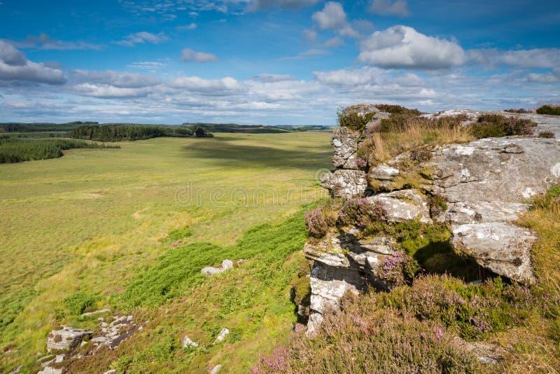 Jour ensoleillé aux rochers de Wanney photographie stock
