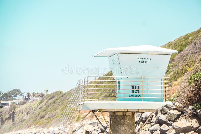 Jour ensoleillé de plage photos stock