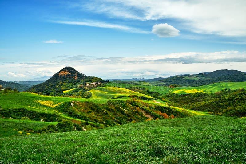 Jour ensoleill? dans Bolgheri Vue de paysage La Toscane, Italie, l'Europe photographie stock libre de droits