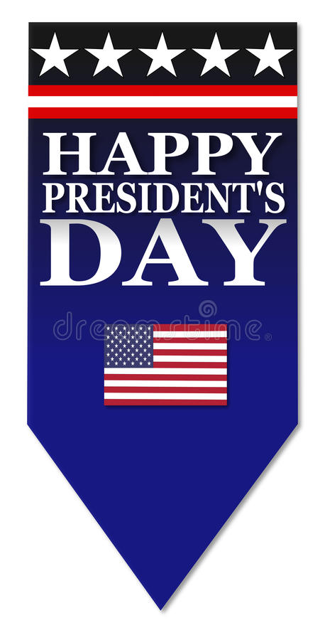 Jour heureux de présidents illustration stock