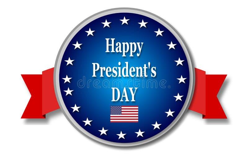 Jour heureux de présidents illustration libre de droits