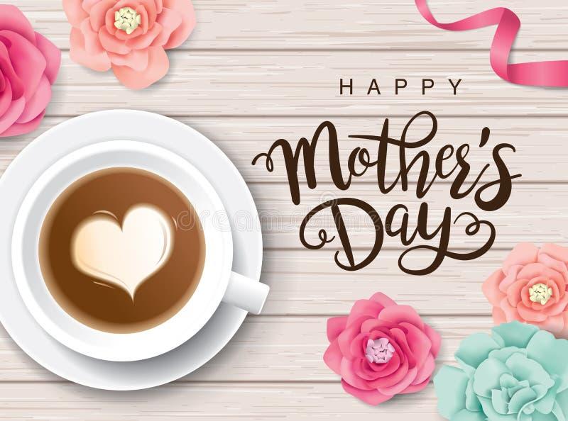 Jour heureux du `s de mère illustration libre de droits