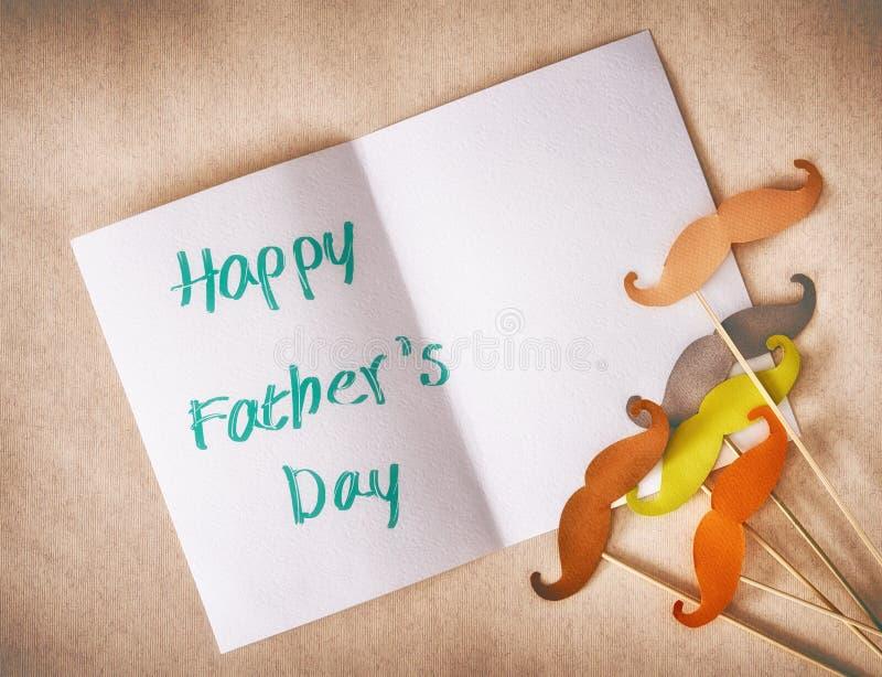 Jour heureux du ` s de père image libre de droits