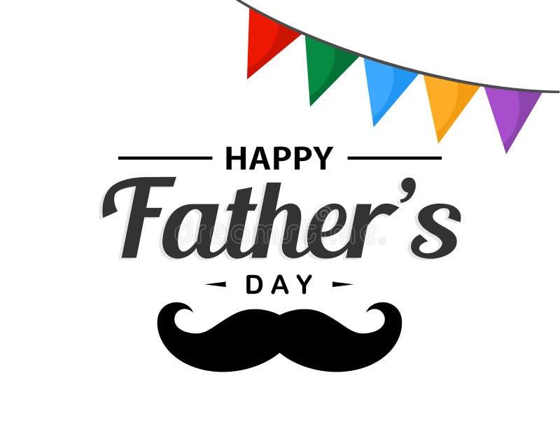 Jour heureux du ` s de père images stock