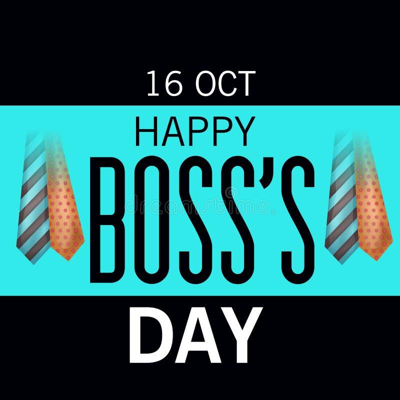 Jour heureux du ` s de patron illustration libre de droits