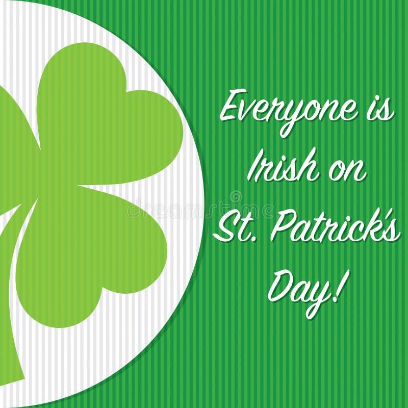 Download Jour Heureux Du ` S De St Patrick ! Illustration Stock - Illustration du décoration, invitation: 87706906