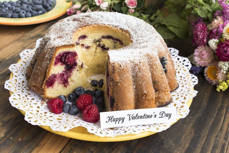 Jour heureux du ` s de Valentine, carte de voeux photo libre de droits