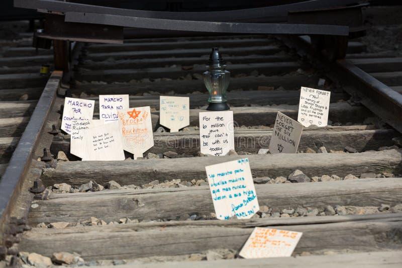 Jour international de souvenir d'holocauste photos stock