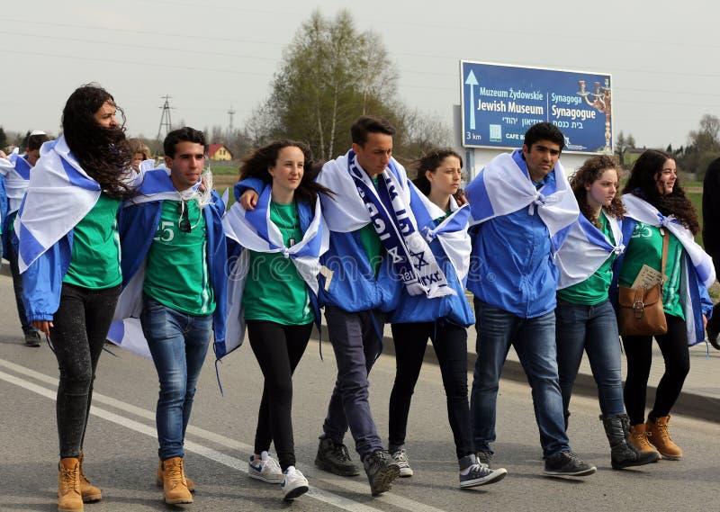 Jour international de souvenir d'holocauste photos libres de droits