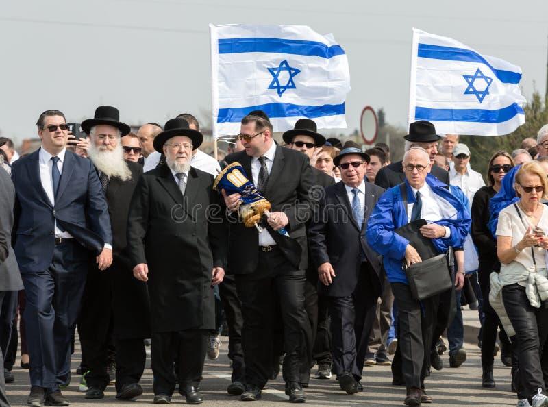 Jour international de souvenir d'holocauste images stock