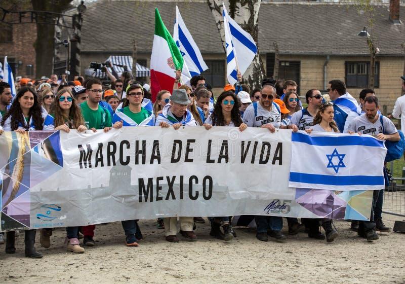 Jour international de souvenir d'holocauste photographie stock