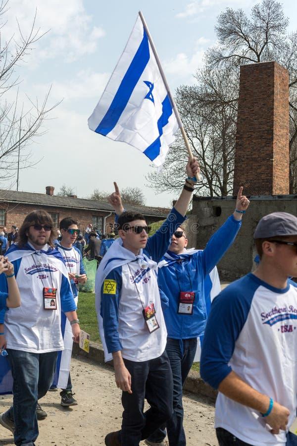 Jour international de souvenir d'holocauste images libres de droits