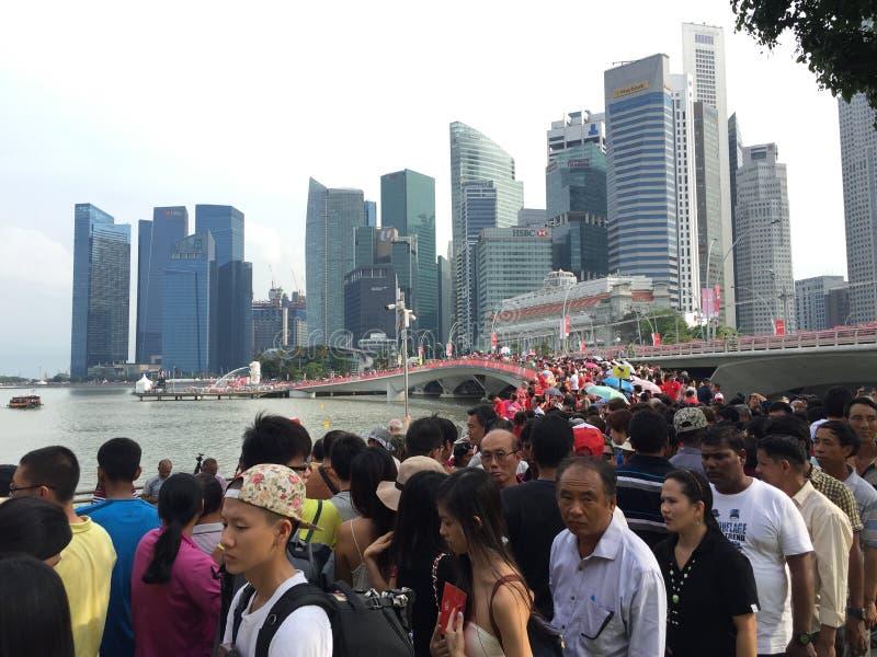 Jour national de SG50 Singapour photo libre de droits