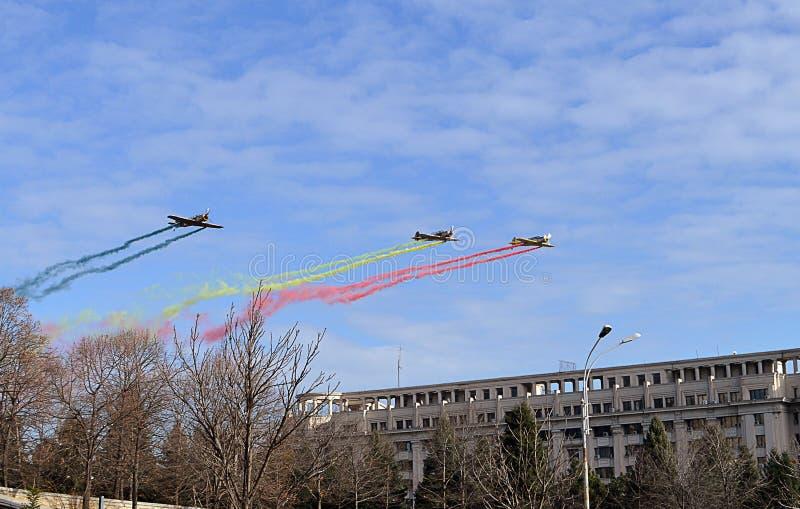 Jour national Roumanie, Bucarest, le 1er décembre 2015 photo stock