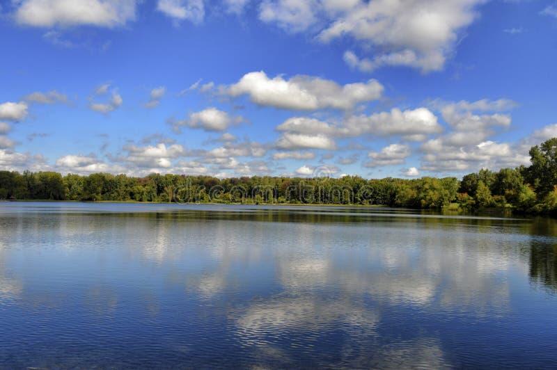 Jour nuageux photo libre de droits