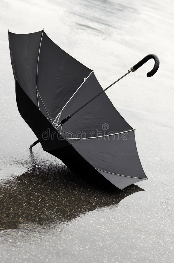 Jour Pluvieux Image libre de droits
