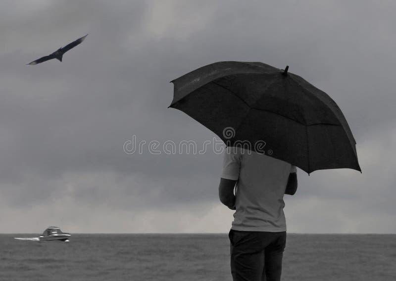 Jour pluvieux en Floride photo stock