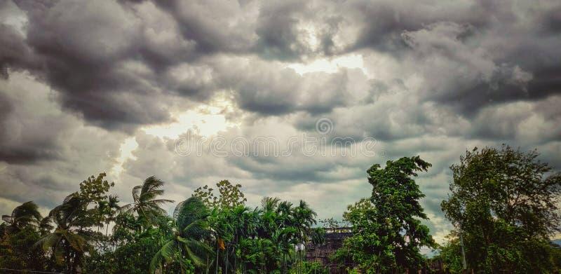 Jour pluvieux photographie stock