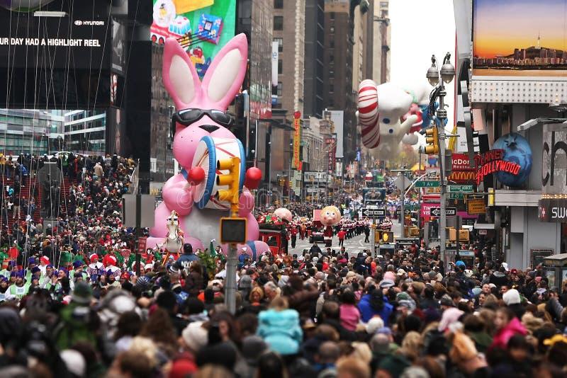 Jour Prade 2010 de l'action de grâces de Macy photographie stock libre de droits
