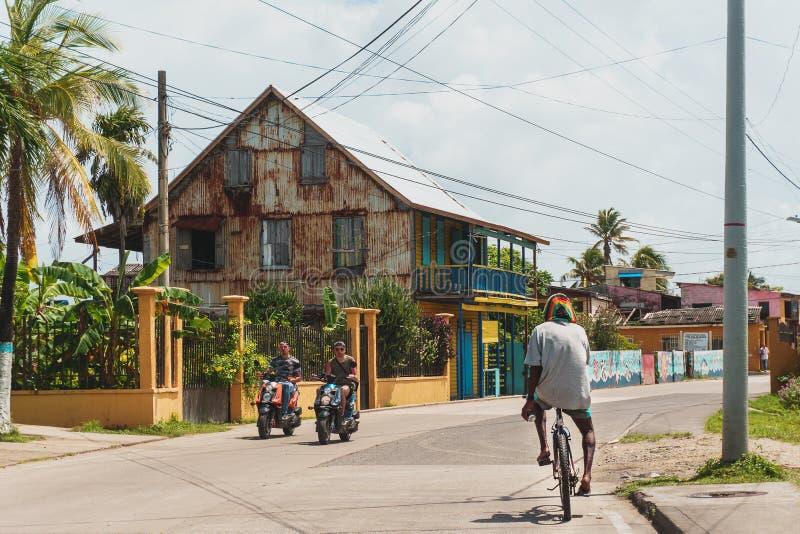 Jour typique en San Andrés photo stock