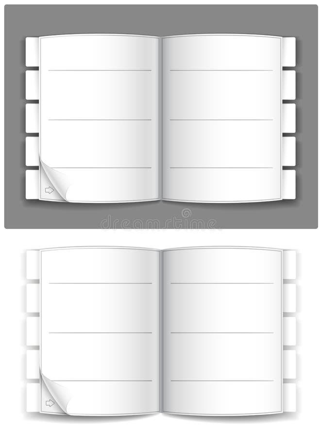 Journal stock abbildung