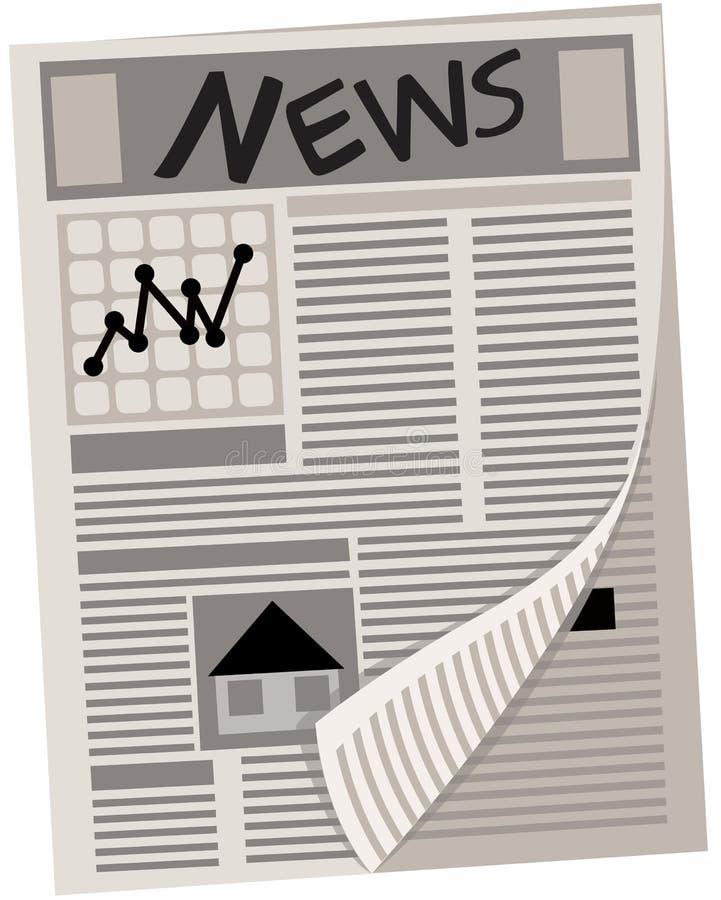Journal illustration stock