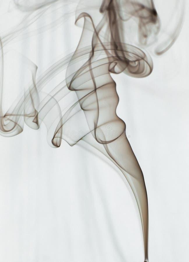 Journal de fumée photo stock
