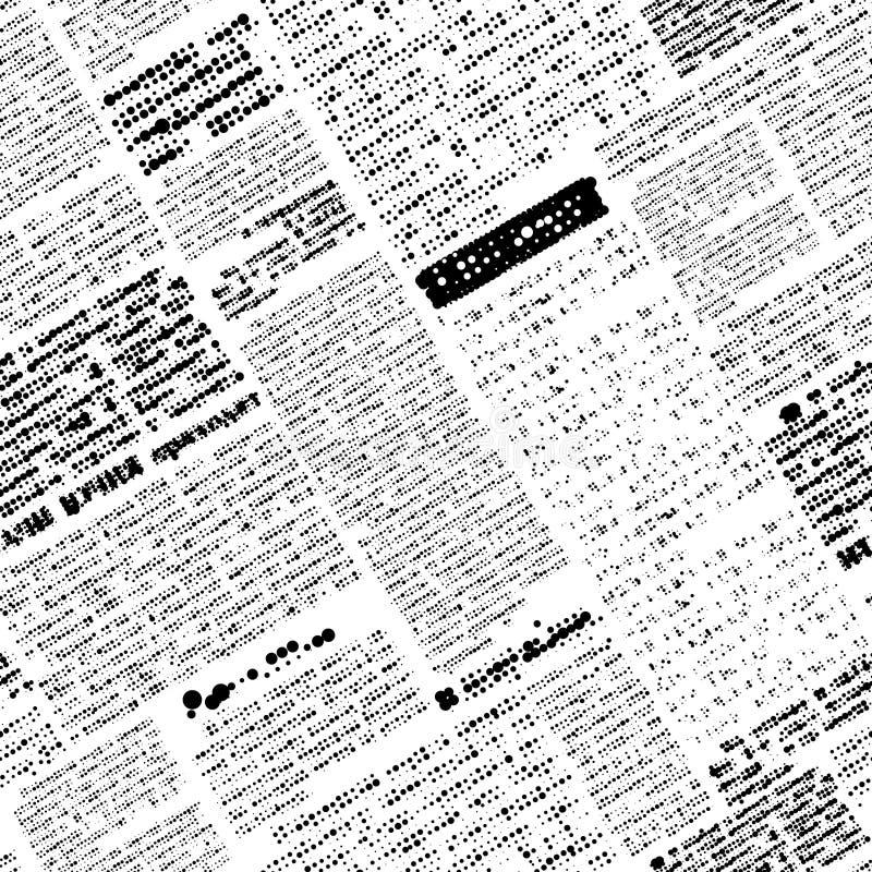 Journal faux illustration libre de droits