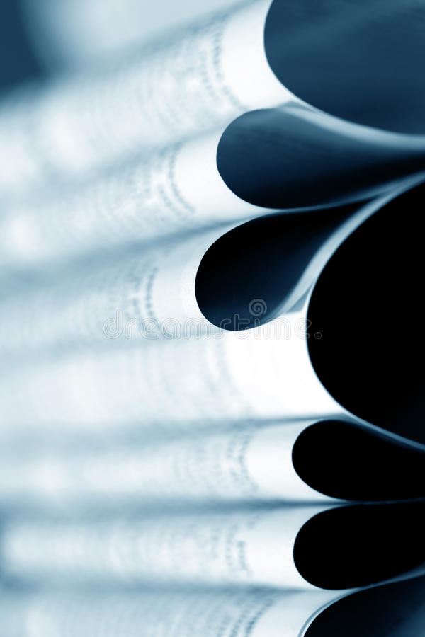 journal proche vers le haut photographie stock libre de droits