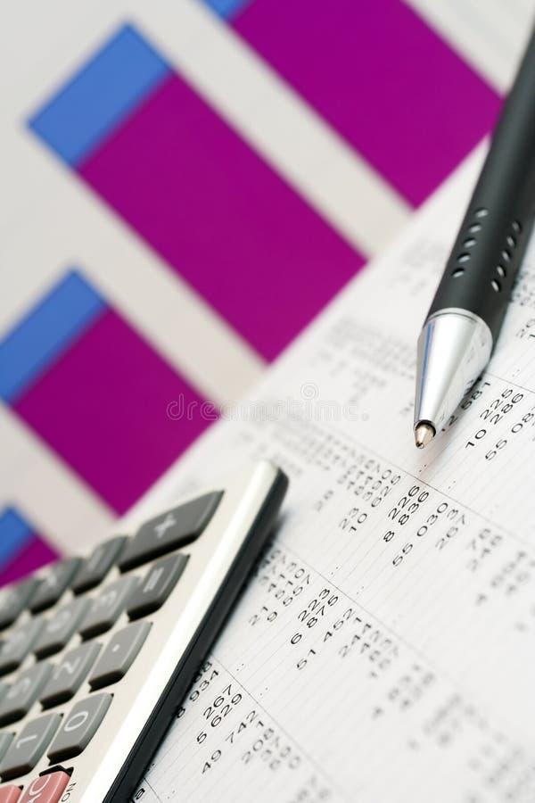 Download Journalisation photo stock. Image du comptabilité, diagramme - 8658524