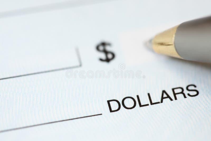 Journalisation et personnalisation de chèques photos libres de droits