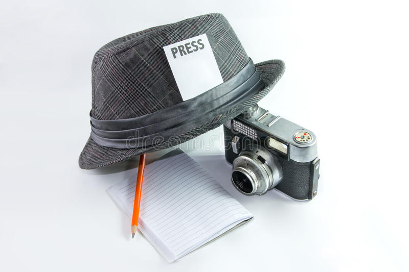 Journalist stockfoto