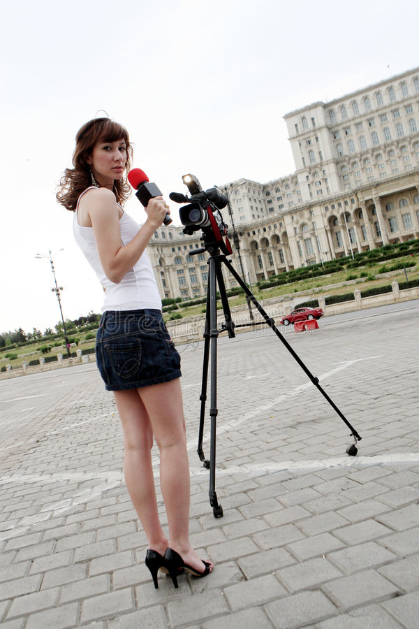 Journaliste images libres de droits