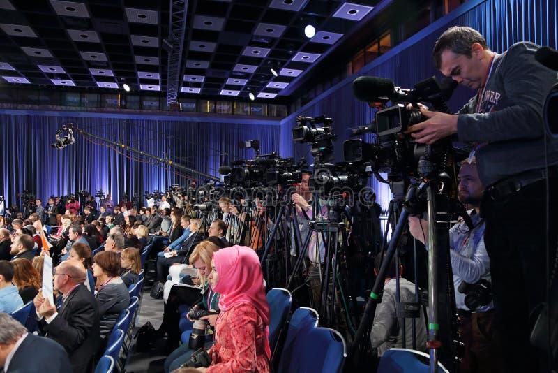 journalists fotografia de stock royalty free