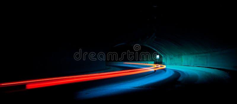 Journaux de lumière de véhicule images stock