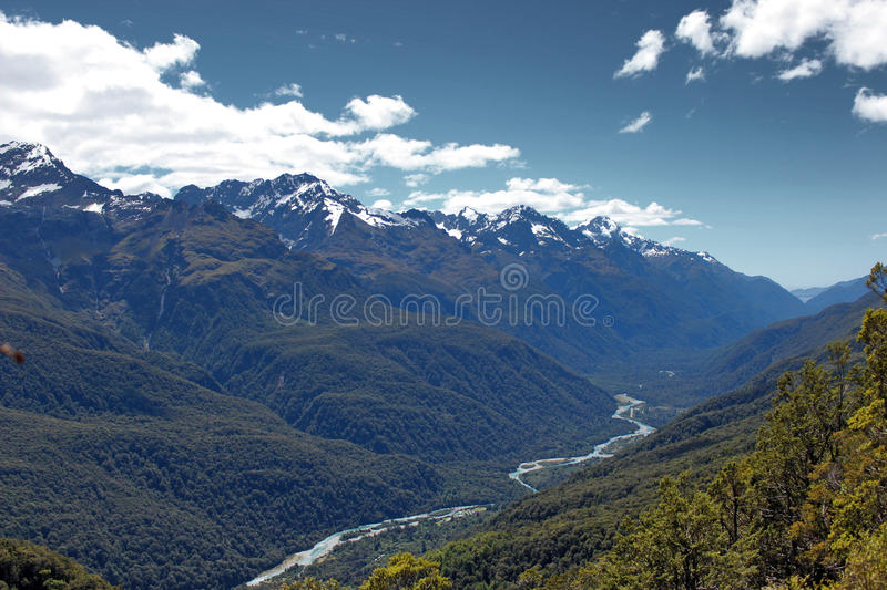 Journey. South Island New Zealand Track royalty free stock images
