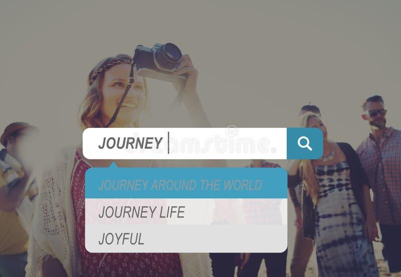 Journey Travel Destination Expedition Exploration Concept stock photos