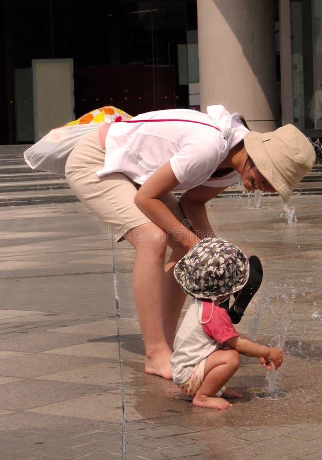 Jours d'été chauds ...... image stock