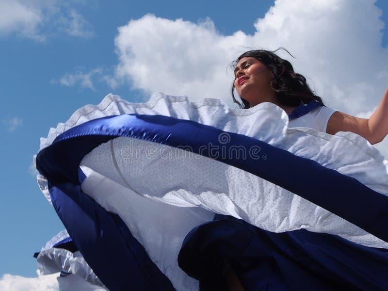 Jours 2013 de l'héritage d'At Edmonton d'Amérique centrale de danseur image libre de droits