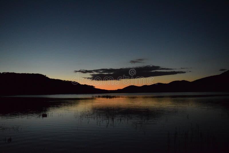 Jours de lac photo libre de droits
