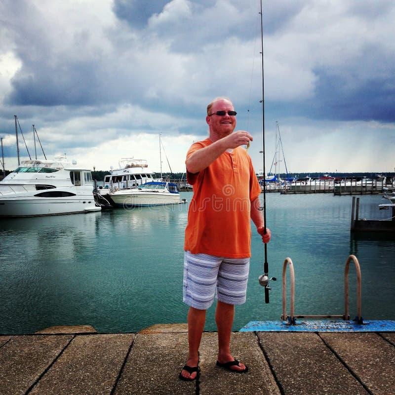Jours de pêche photographie stock libre de droits