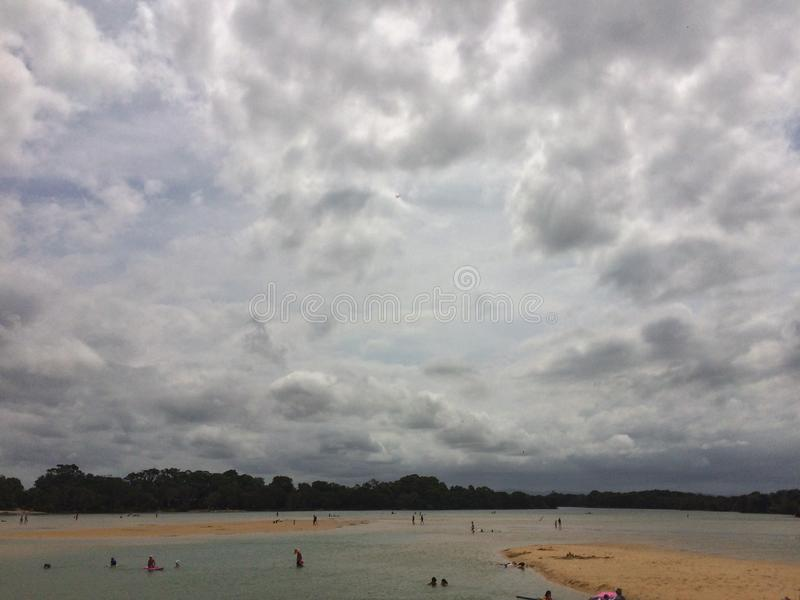 Jours de plage image libre de droits