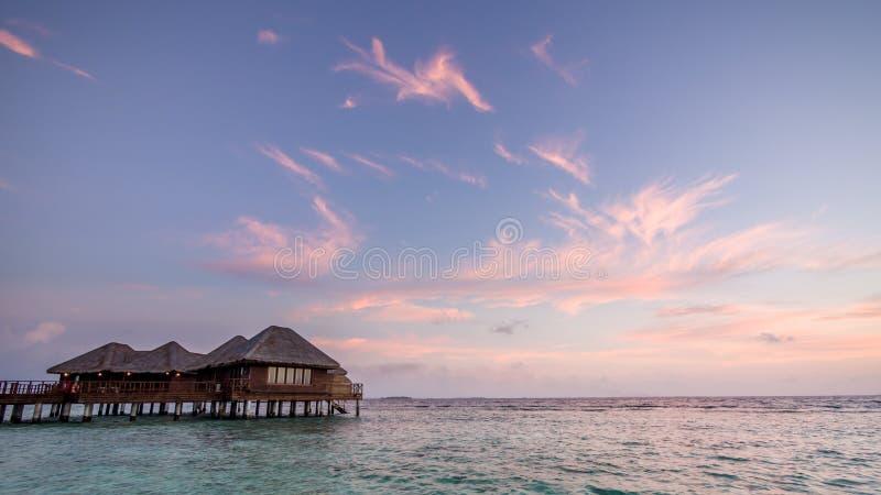 Jours heureux dans Maldive image libre de droits
